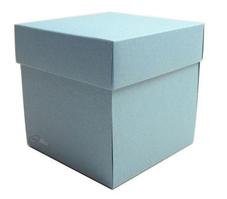 Exploding Box niebieski z fakturą - GoatBox
