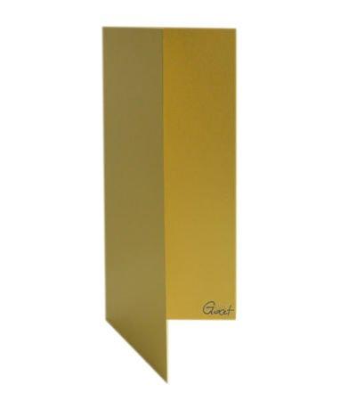 Karta bigowana DL złota perłowa - GoatBox