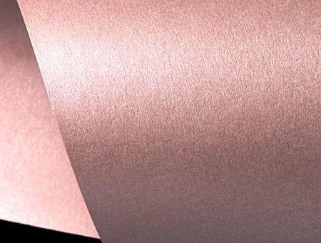 Papier ozdobny pudrowy różowy  perłowy  - niepełne A4 - GoatBox